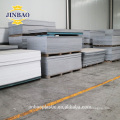 Jinbao 4'x8' 4x6ft white gray color 1.55 1.7 density pvc rigid sheet