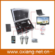 500w protable off-grid solar home lighting system with pure sine wave inverter and high quality mini solar controller