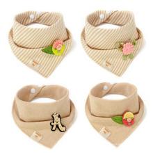 China venda quente bebê bandana drool babadores para babando e dentição algodão bebê bandana babador
