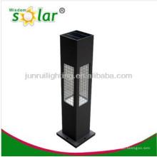 alta calidad novedad solar luces del jardín, luz solar del jardín del acero inoxidable, luz llevada solar