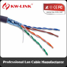 Cat5e FTP Kabel mit CCA Kupferleiter, 24AWG Twisted Conductor