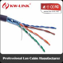 Prueba de Fluke Cu / CCC / CCA / CCS 0,51 mm PTP / ftp cat5e red de cable LAN cable