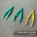 Disposable Plastic Medical Forceps Disposable Tweezers