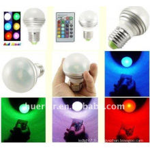 1 * 3W Romote Control RGB LED Spotlight 100-240V RGB003
