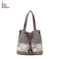 China fornecedor mulheres bolsa sacola lona senhoras sacos de mão