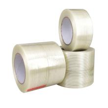 Fita de fibra de vidro reforçada com filamento unidirecional para embalagem pesada