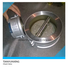 Dual Disc Butterfly Style 304 Disc Check Valve