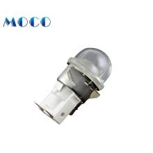 Wholesale high quality E14 microwave 304 stainless steel oven lightbaseless 110v/220v/250v 15w/25w oven lamp