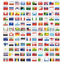 Weltflagge, Flagge, Banner, Nationalflagge