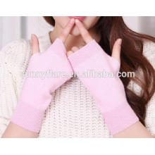 OEM Women Pure Cashmere Fingerless Gloves