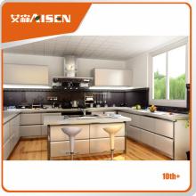 Aisen Raisonnable et acceptable de haute qualité design de cabinet de cuisine blanc pvc moderne