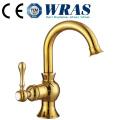 Solid brass golden taps for bathroom
