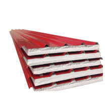 75mm roof heat insulation materials eps sandwich roofing
