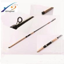 TSR068 Haute qualité pas cher canne à pêche tiges en fibre de verre télescopique pôle