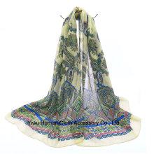 Écharpe imprimée pour écharpe en écharpe écharpe