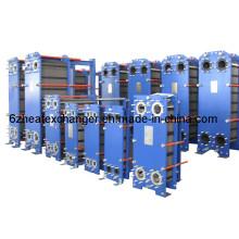 Intercambiador de calor de placas para refrigeración por agua a vapor (igual a M15B / M15M)