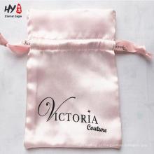 Vários design de padrão elegante saco de cetim