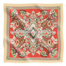 SPOT mercadorias - cachecol de impressão de alta qualidade da tela de seda