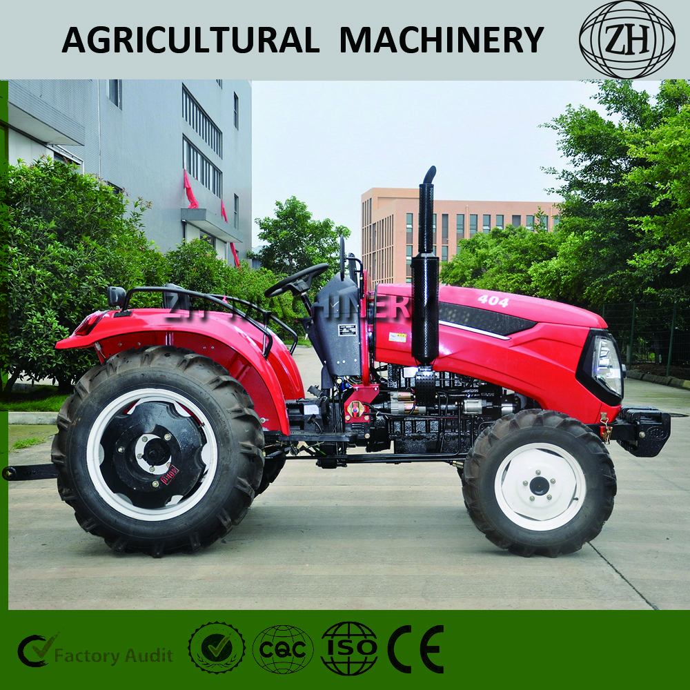 Small 40HP Agricultural Tractor 4-wheel Drive