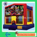 racing car inflatable bouncy castle