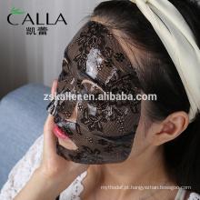 máscara facial magnética, máscara da pintura da cara do laço