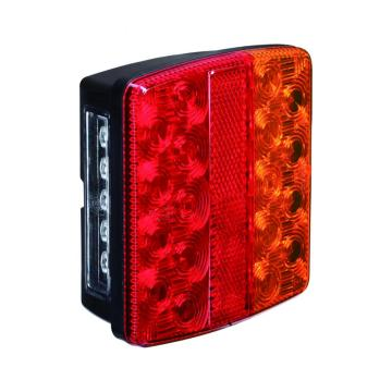 100% Waterproof 12V LED Boat Trailer Combination Tail Lamps