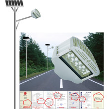 30W Luz de calle solar, hogar o al aire libre usando la lámpara solar Linterna solar de la lámpara