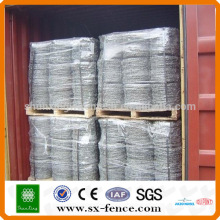 ISO,SGS,BV High quality barbed wire roll price fence