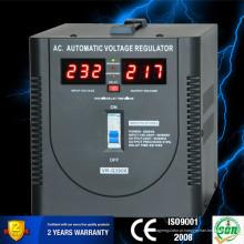 Exibição de diodo emissor de luz da escala cheia Estabilizador da tensão estabilizador elétrico home
