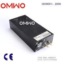 Wxe-1000scn-24 12V 24V 36V 48V 1000W Fuente de alimentación conmutada