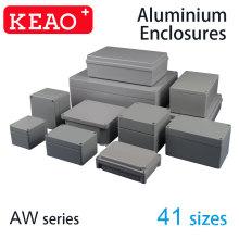 Caixa de proteção de alumínio fundido IP67 elétrico à prova d'água caixa de alumínio à prova de intempéries caixa de alumínio eletrônico