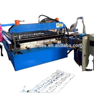 Профилегибочная машина для производства кровельных панелей для строительных материалов
