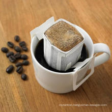 Protable Homemade drip coffee filter bag with hanging ear japanese for coffee