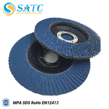 Disque abrasif d'aileron de surface de jointure pour le polissage