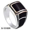 Новая модель 925 серебряное кольцо с эмалью