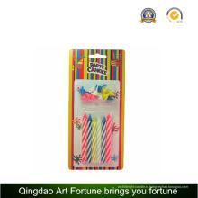 Спираль свечи день рождения для детей декор