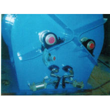 Misturador de pás de eixo duplo de gravidade zero WZ, equipamento de mistura a seco SS, horizontal usado misturador de pá
