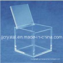 Caixa de jóias caixa de cristal