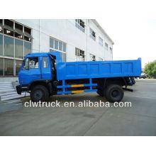 Dongfeng 12T camión de basura de descarga