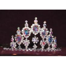 AB tiara de diamantes de imitación