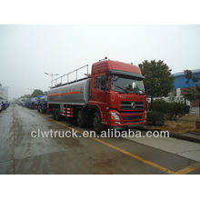 Dongfeng tianlong 25tons mobile oil truck, fuel tanker truck capacity