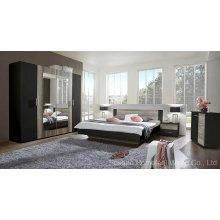 Erstaunliche Farbe Mixed Wooden Schlafzimmer Möbel Set (HF-EY08271)