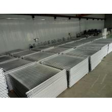 standard galvanized welded temporary fence