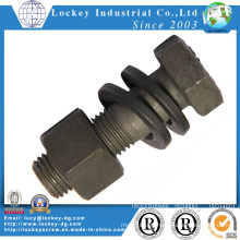 Steel Heavy Hex Bolt with Nut and Washer