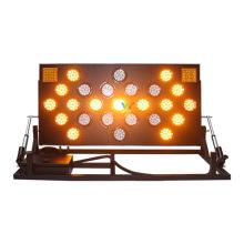Klappständer Aluminium LED Verkehrspfeilplatte