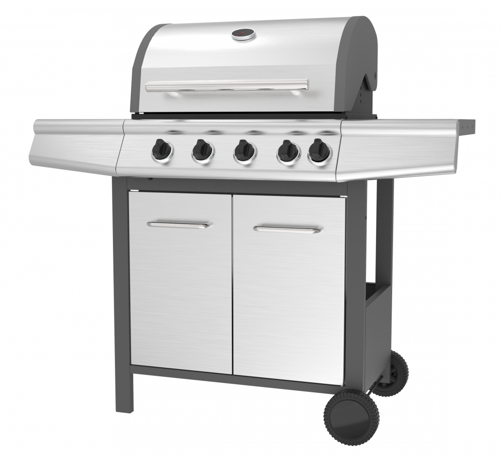 4 Burner Gas Barbecue Grill