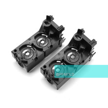 Black Husky ABS Plastic Injection Mold Parts