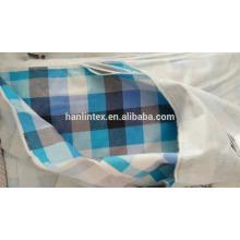 Check cotton flannel fabric wholesale