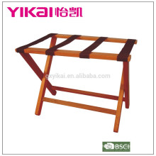 High quality solid wood luggage rack in big size