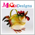 Лучшие продажи животных металлические лейки для цветов